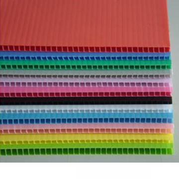工厂中空板源头热销白色全新料聚丙烯塑料瓦楞板塑料中空板万通板