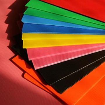 厂家供应红色PC板 透明中空10mm质保