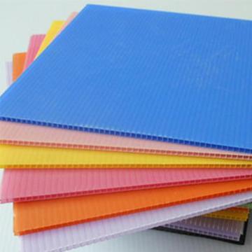 厂家直销中空板 电子箱包物流防静电折叠白色透明中空板 可加工