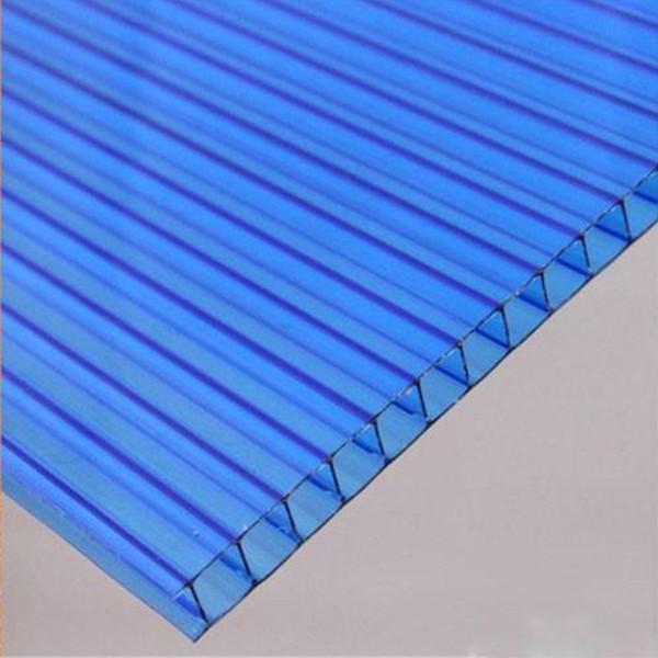 双层中空板透明可弯曲聚碳酸酯pc阳光板