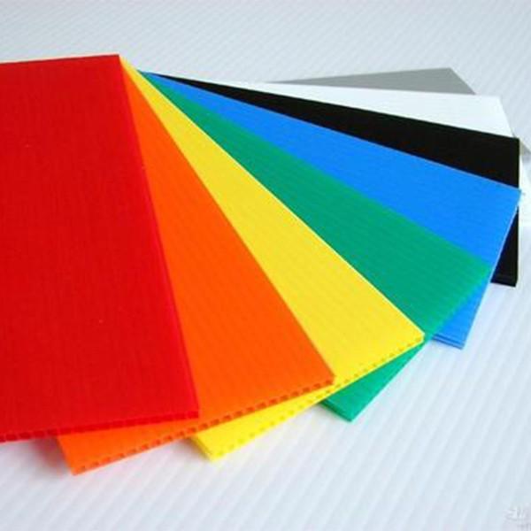 塑料中空板5mm瓦楞隔板万通PP塑胶空心板可定制大小