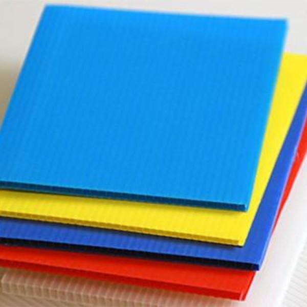 厂家批发 塑料pp中空板 透明中空板 防静电万通板 可定制