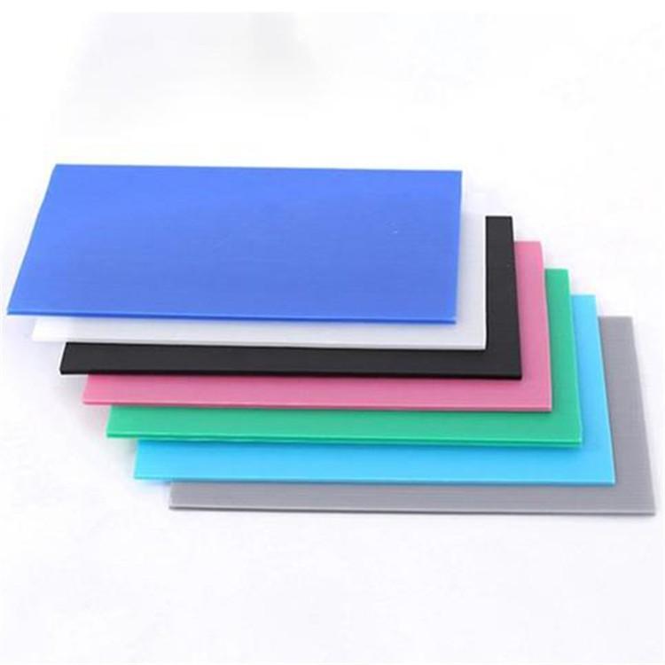 塑胶pp中空板板材工艺与尺寸公差说明