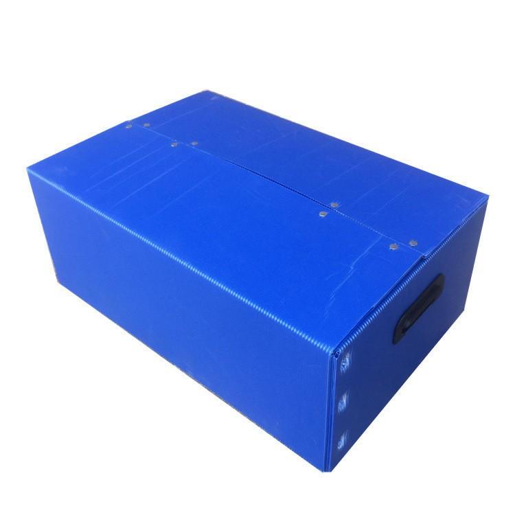 塑料中空板周转箱流水车间应用