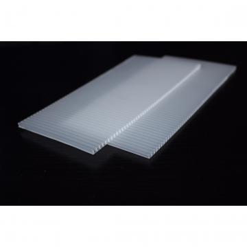 厂家直销 PC阳光板雨棚 中空PC板加工
