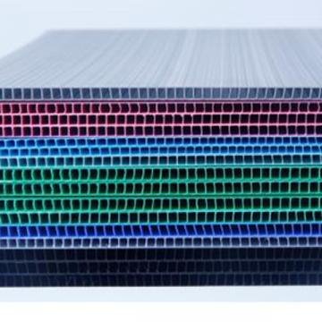 厂家直销阳光板6mmPC中空板材 透明中空板