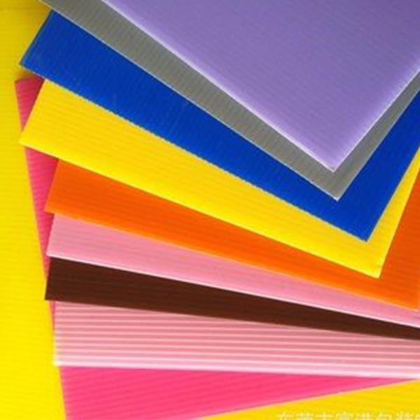 阳光板透明pc耐力板阳台中空空心实心采光板阳光房遮阳采光瓦雨棚 #3 image