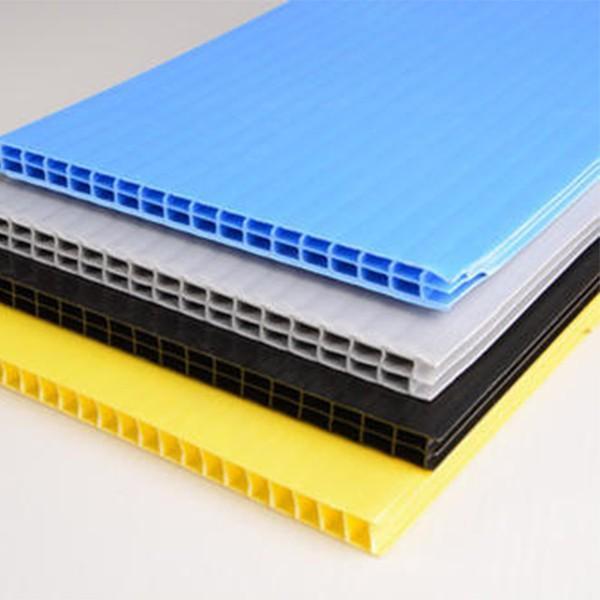 批发阳光板温室大棚隔热保温中空板透光湖蓝色阳光板批发质保十年