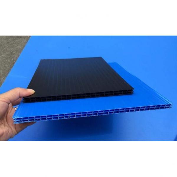 pc阳光板 透明户外遮阳雨棚中空板 大棚隔热采光板定制